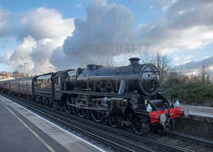 Purchase photo of 45212 Black Five at Basingstoke