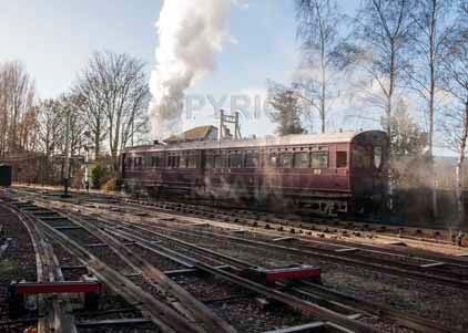 Purchase photo of 93 Steam Railmotor at Didcot