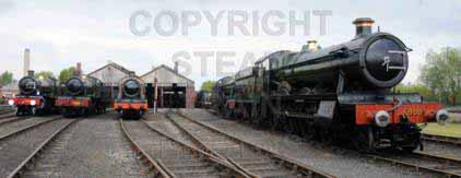 Purchase posters of Outside The Engine Shed