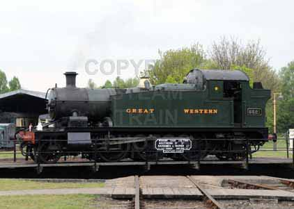 Purchase photo of 5521 2-6-2T at Didcot