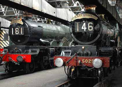 Purchase photo of 5051 EARL BATHURST &  5029 NUNNEY CASTLE at Didcot