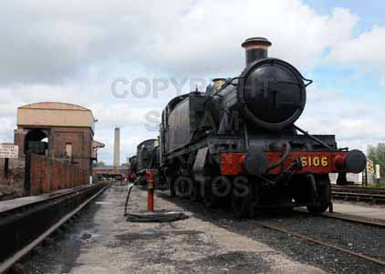 Purchase photo of 6106 2-6-2T at Didcot