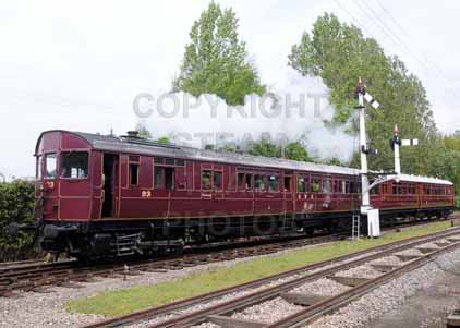 Purchase photo of 93 Steam Railmotor &  92 Autotrailer at Didcot
