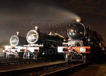 Purchase photo of 3717 CITY OF TRURO,  5900 HINDERTON HALL &  5029 NUNNEY CASTLE at Didcot