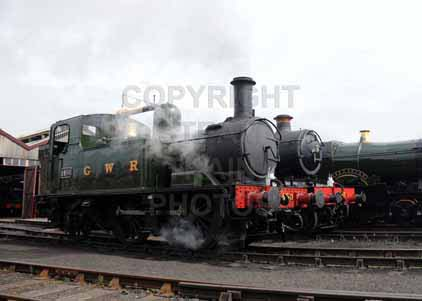 Purchase photo of 1450 0-4-2T at Didcot