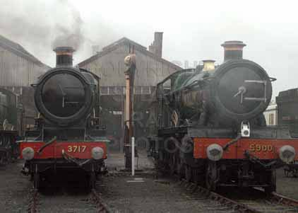 Purchase photo of 3717 CITY OF TRURO &  5900 HINDERTON HALL at Didcot