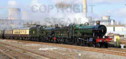 Purchase posters of 5043 EARL OF MOUNT EDGCUMBE &  4965 ROOD ASHTON HALL