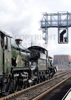 Purchase photo of 5043 EARL OF MOUNT EDGCUMBE &  4965 ROOD ASHTON HALL at Didcot