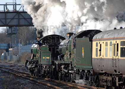 Purchase photo of 4965 ROOD ASHTON HALL &  5043 EARL OF MOUNT EDGCUMBE at Didcot