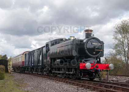 Purchase photo of 9466 0-6-0PT at Didcot
