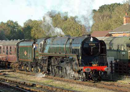 Purchase photo of 71000 DUKE OF GLOUCESTER at Great Central Railway
