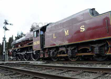 Purchase photo of 45690 LEANDER at Great Central Railway