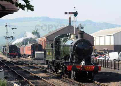 Purchase photo of 3803 2-8-0 at Gloucestershire Warwickshire Railway