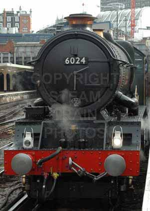 Purchase photo of 6024 KING EDWARD I at London - Victoria