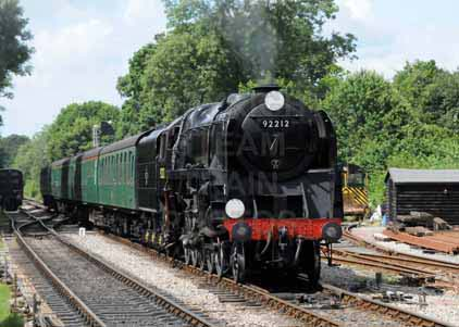 Purchase photo of 92212 9F at Mid Hants Railway