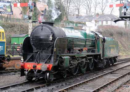 Purchase photo of 850 LORD NELSON at Mid Hants Railway