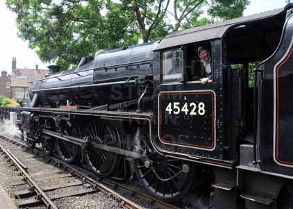 Purchase photograph of 45428 ERIC TREACY at North Yorkshire Moors Railway