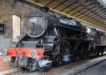 Purchase photo of 45428 ERIC TREACY at North Yorkshire Moors Railway