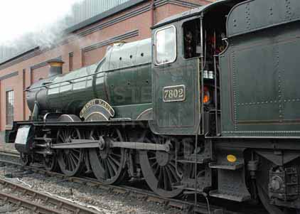 Purchase photo of 7802 BRADLEY MANOR at Severn Valley Railway