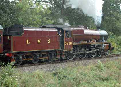 Purchase photo of 45690 LEANDER at Severn Valley Railway