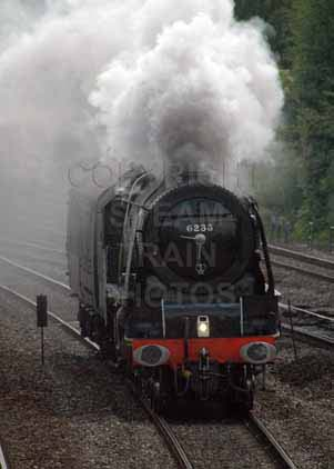Purchase photo of 46233 DUCHESS OF SUTHERLAND at Tilehurst