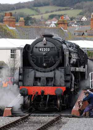 Purchase photo of 92203 BLACK PRINCE at West Somerset Railway