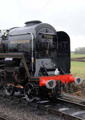 Purchase photo of 71000 DUKE OF GLOUCESTER at West Somerset Railway
